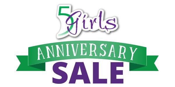 5 Girls Anniversary Sale 2015