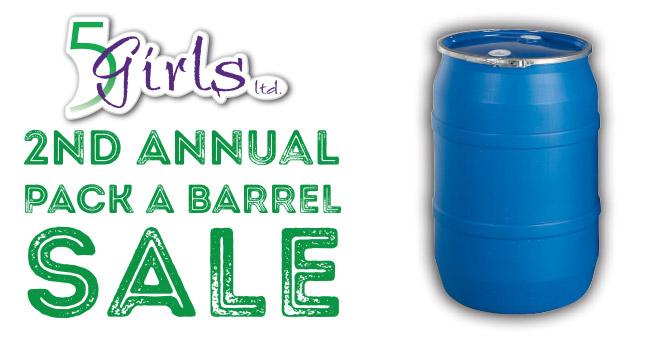 5 Girls LTD Pack A Barrel Sale
