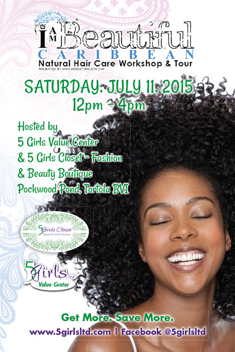 Natural Hair Expo - 5 Girls Closet