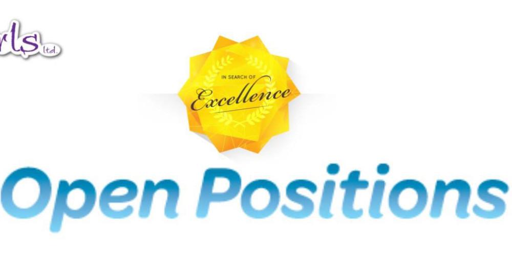 Open Positions - Job Opportunity - 5 Girls LTD