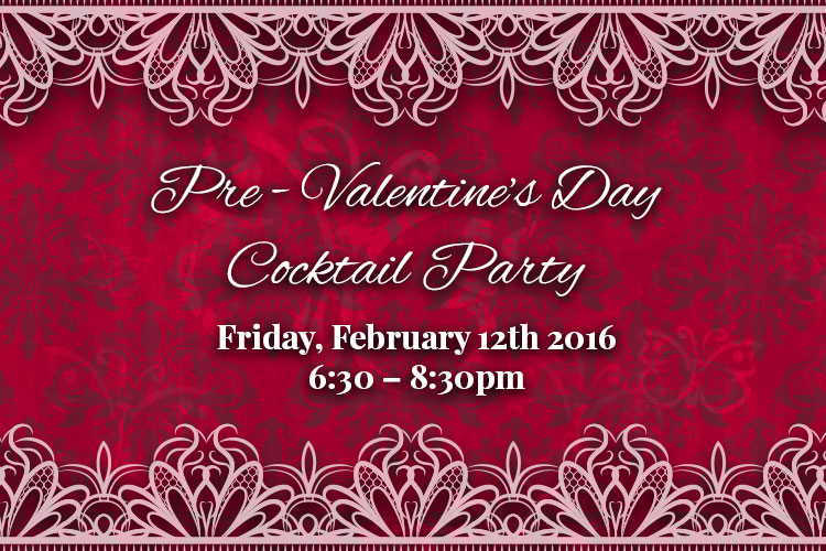 Pre-Valentine's Day Cocktail Party