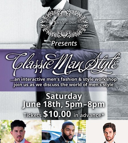 classic man style flyer