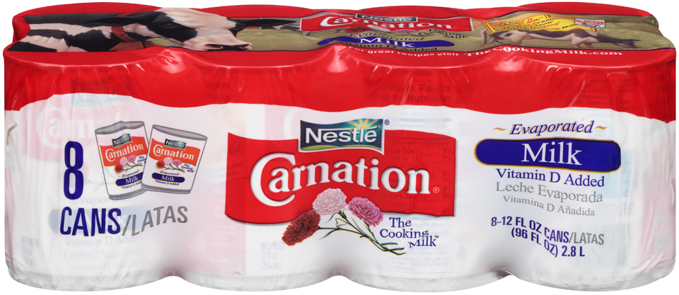 Carnation Evaporated Milk - 8pk